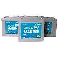 Аккумулятор EverExceed 100Ah 12V MARINE Gel Range (8G27M - 12100MG), фото 1